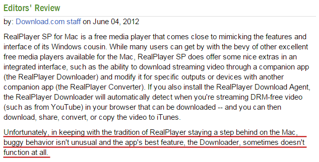 Download YouTube Videos on Mac with RealPlayer